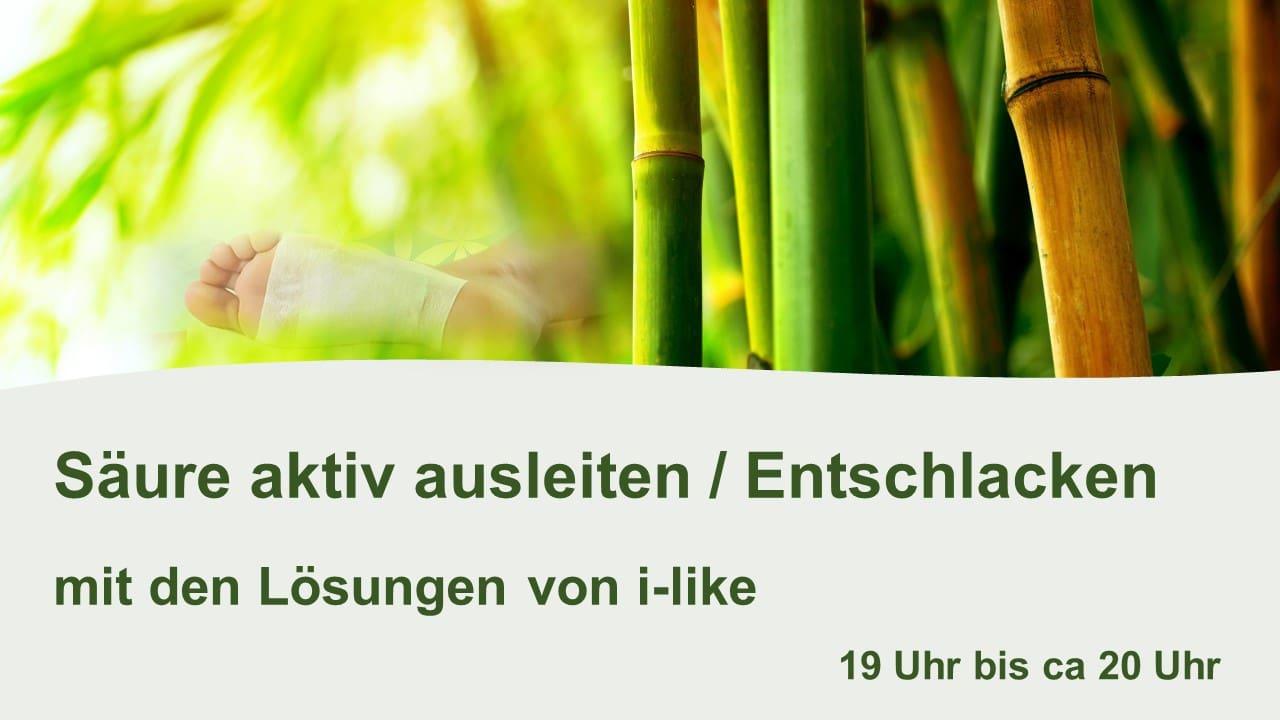 Bambus Vitalpflaster